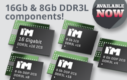 New 8Gb 6 16Gb DDR3L components!